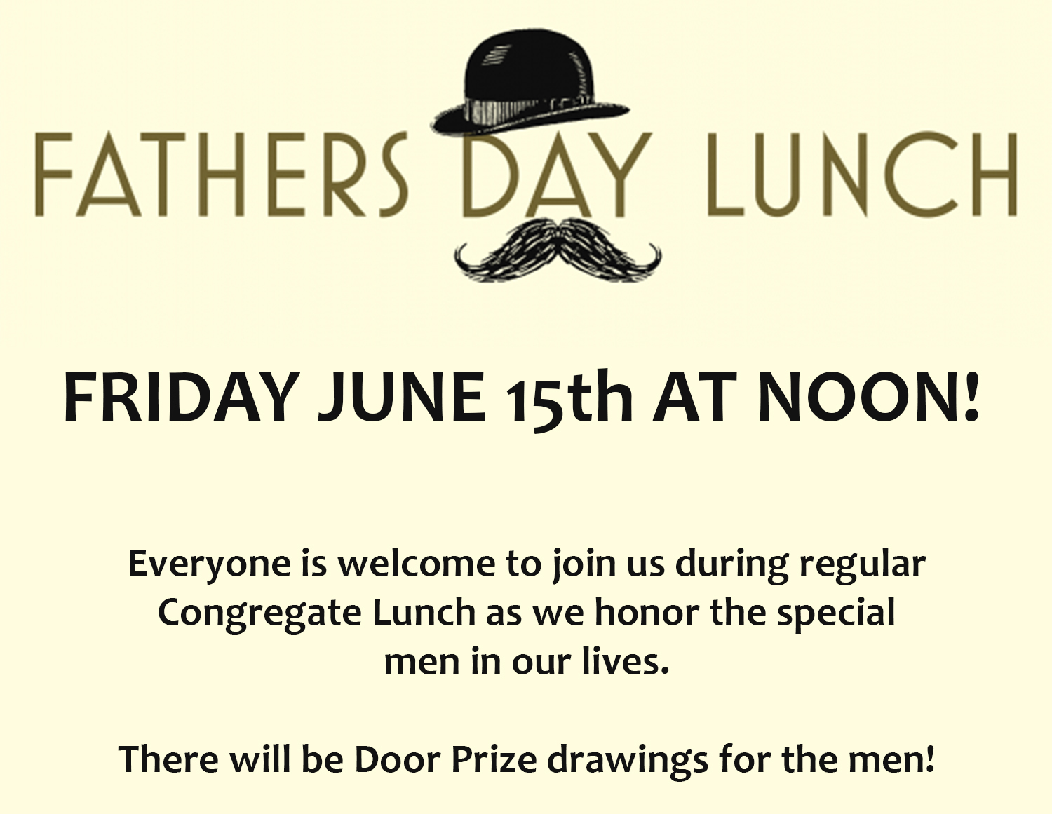 Fathers Day Lunch 2018 website calendar