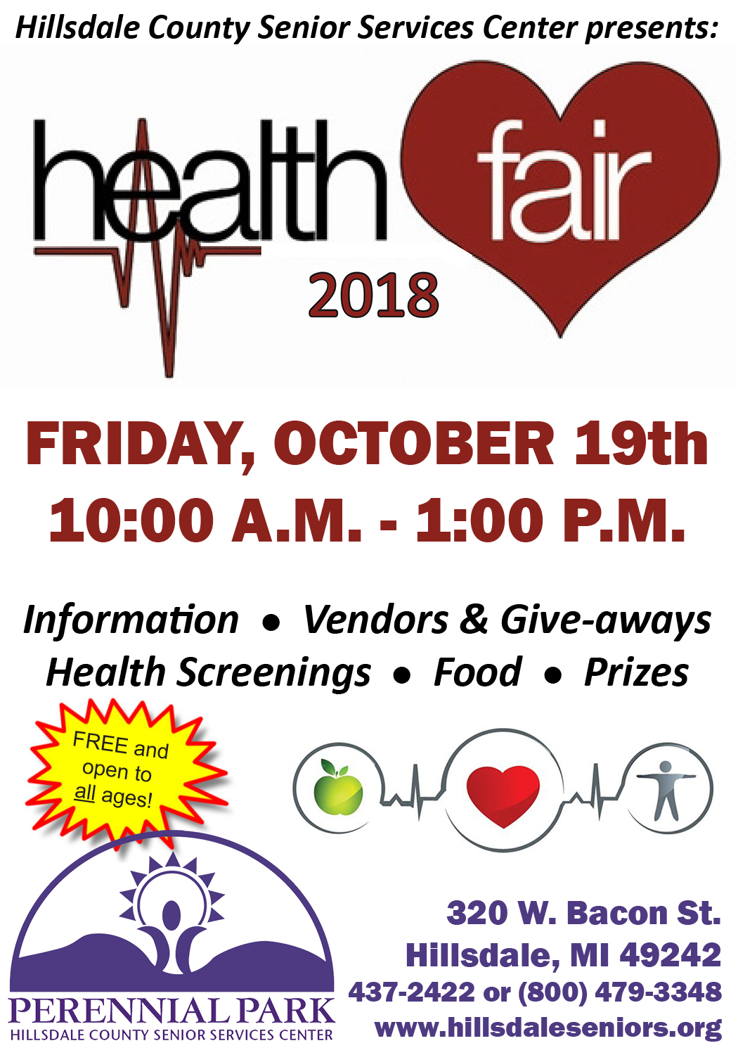 Health Fair Ad 2018 HDN