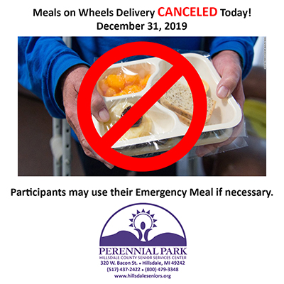 Meals on Wheels CANCELED Dec 31 SMALL