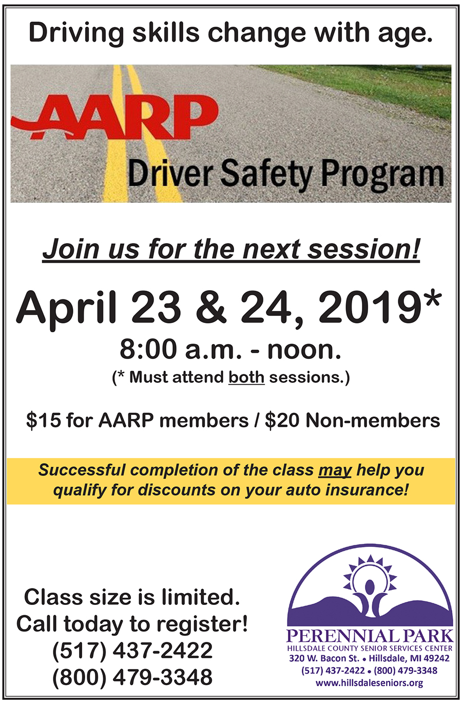 Safe Driving Apr 2019