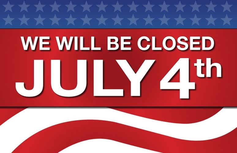 closed july4