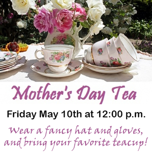 mothers day tea 2019